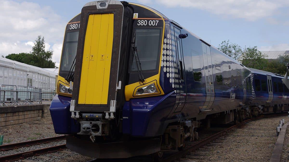 ScotRail Class 380 electric trains