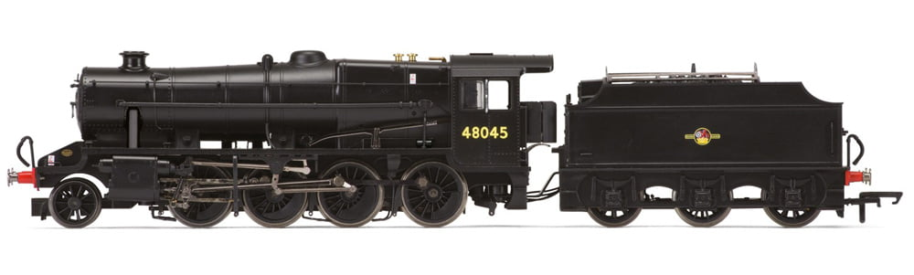 8F steam locomotive now available at Hornby