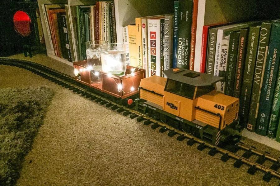 Gin Model Train