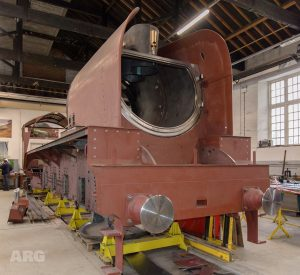 """2007 """"Prince of Wales"""" under construction // Credit ARG Photography"""