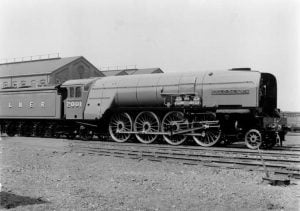 """2001 """"Cock O' The North"""" as built at Doncaster // Credit NRM"""