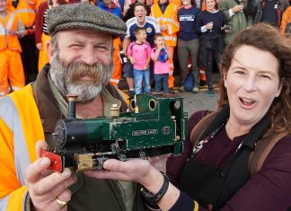 Dick Strawbridge is set to make history with the biggest little railway in the world on Channel 4