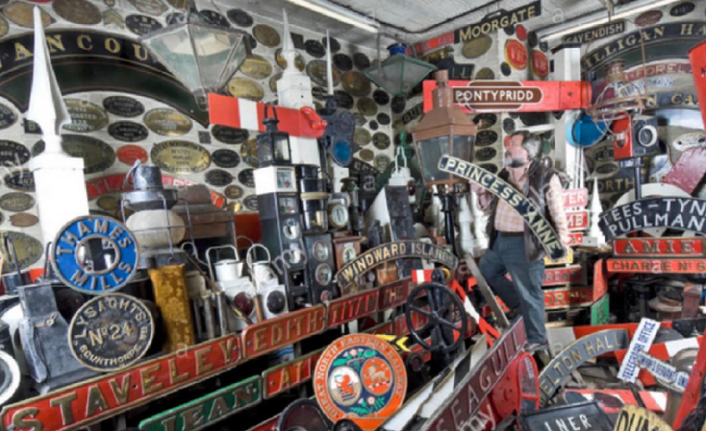Some of Doncaster's Railway artefacts // Credit Visit Doncaster
