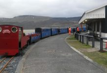 Fairbourne Railway barmouth ferry station track realignment