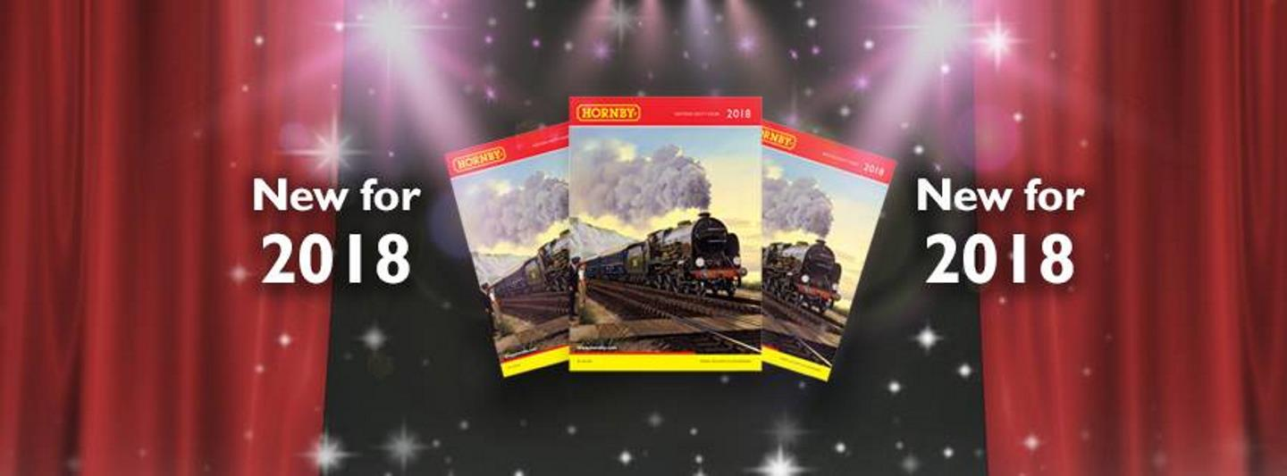 Picture of Hornby's 2018 Catalogue // Credit Hornb