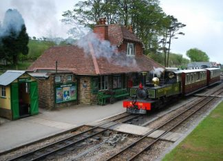 Lynton and Barnstaple Railway calendar on sale