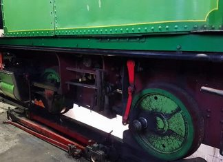 Right-Hand Side Motion Removed off of Lucie // Credit Paul Middleton, Grosmont M.P.D News - The Original
