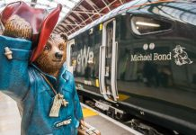 Paddington Bear and creator Michael Bond to be remember after an 800 train is named after them
