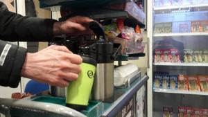 Arriva Trains Wales travel mugs