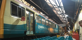 Arriva Trains Wales refurb valley network trains