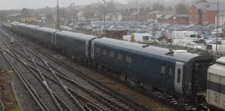 caledonian sleeper carriages arrive in the uk