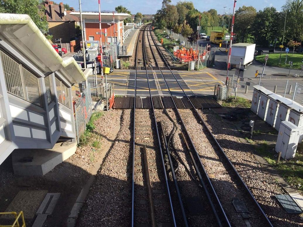 Eastfield Road railway level crossing