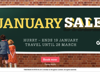 Great Western Railway aunch January Sale