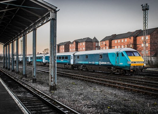 Gerald is off to the Sales with Arriva Trains Wales