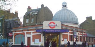 Kennington tube station on the Northern Line