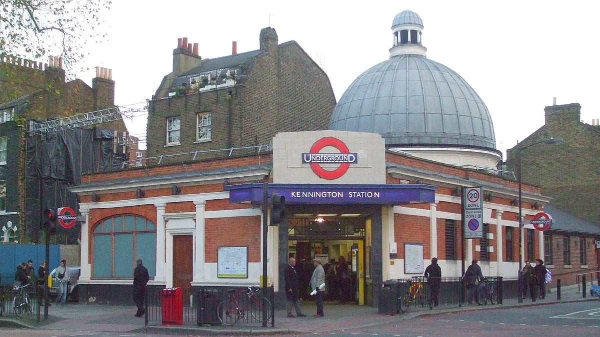 Kennington tube station on the Northern Line
