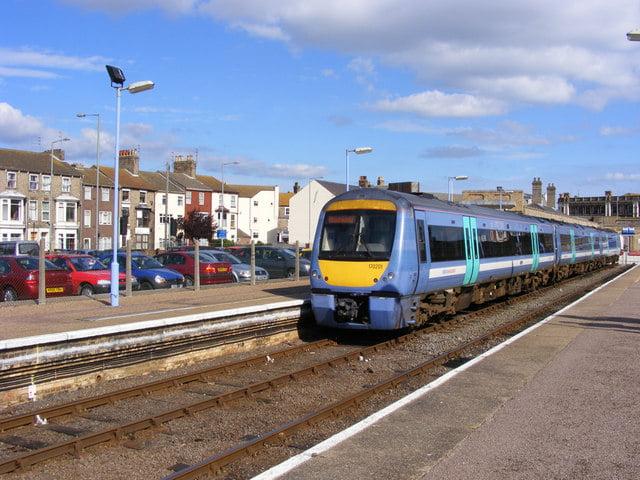 Trains at Lowwstoft