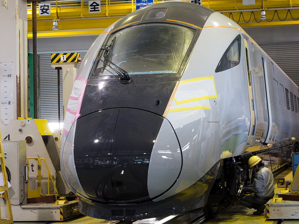 New TransPennine Express Trains begin to be built in Japan