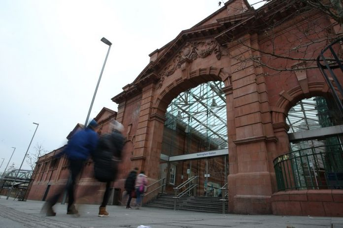 Nottingham railway station update after fire