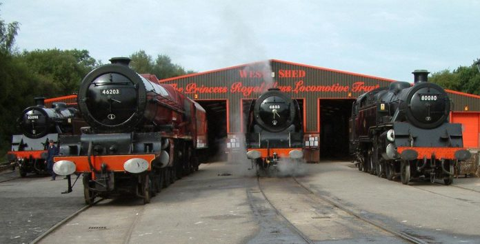 West Shed at the Midland Railway Butterley
