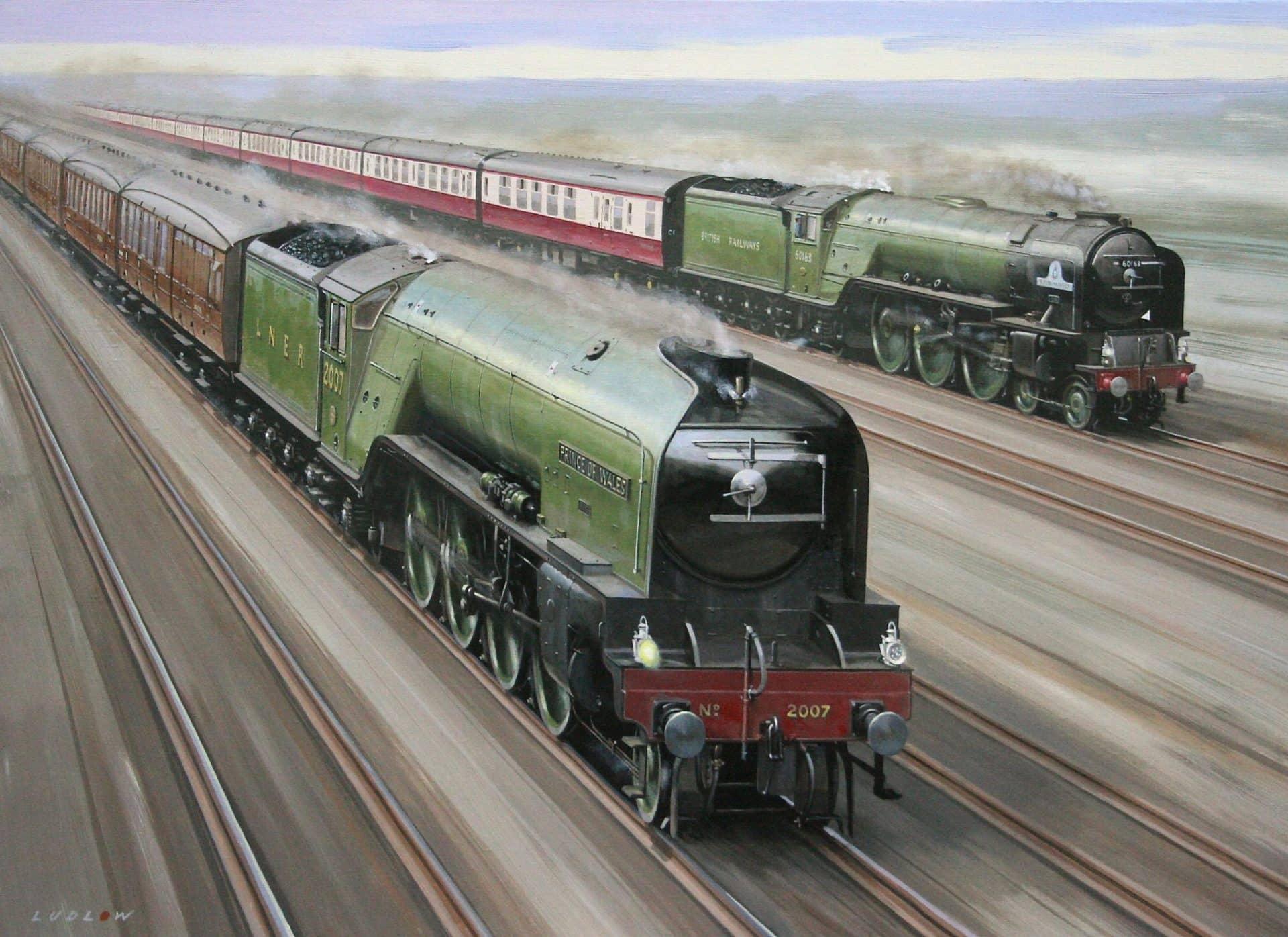 2007 Prince of Wales and 60163 Tornado