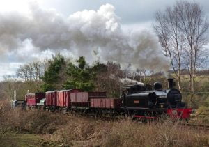 Freight in February - On the Waggon - Tanfield Railway @ Tanfield Railway | Marley Hill | England | United Kingdom