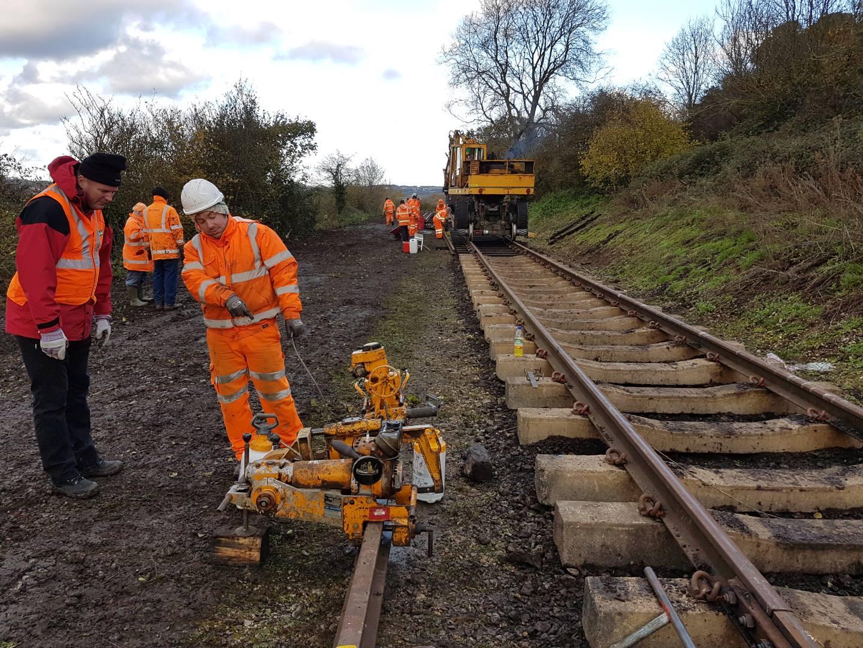 Somerset and Dorset Railway track bash