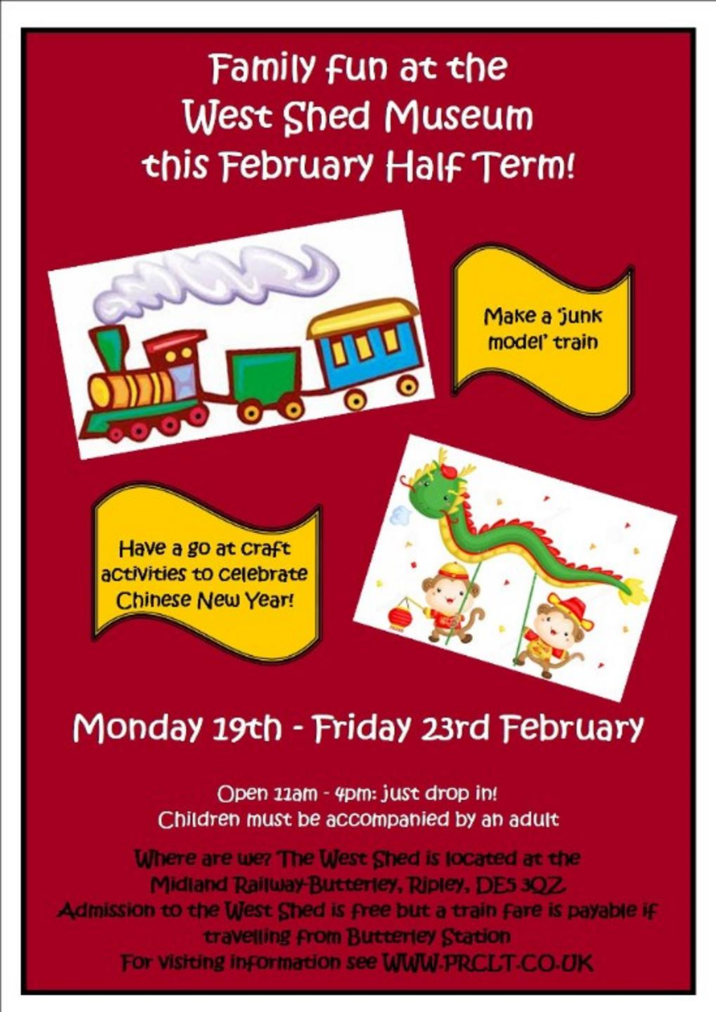 February Half Term Activities at West Shed // Credit West Shed
