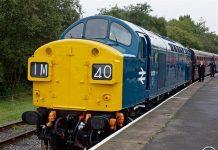 Class 40 No. 40135 // Credit Severn Valley Railway