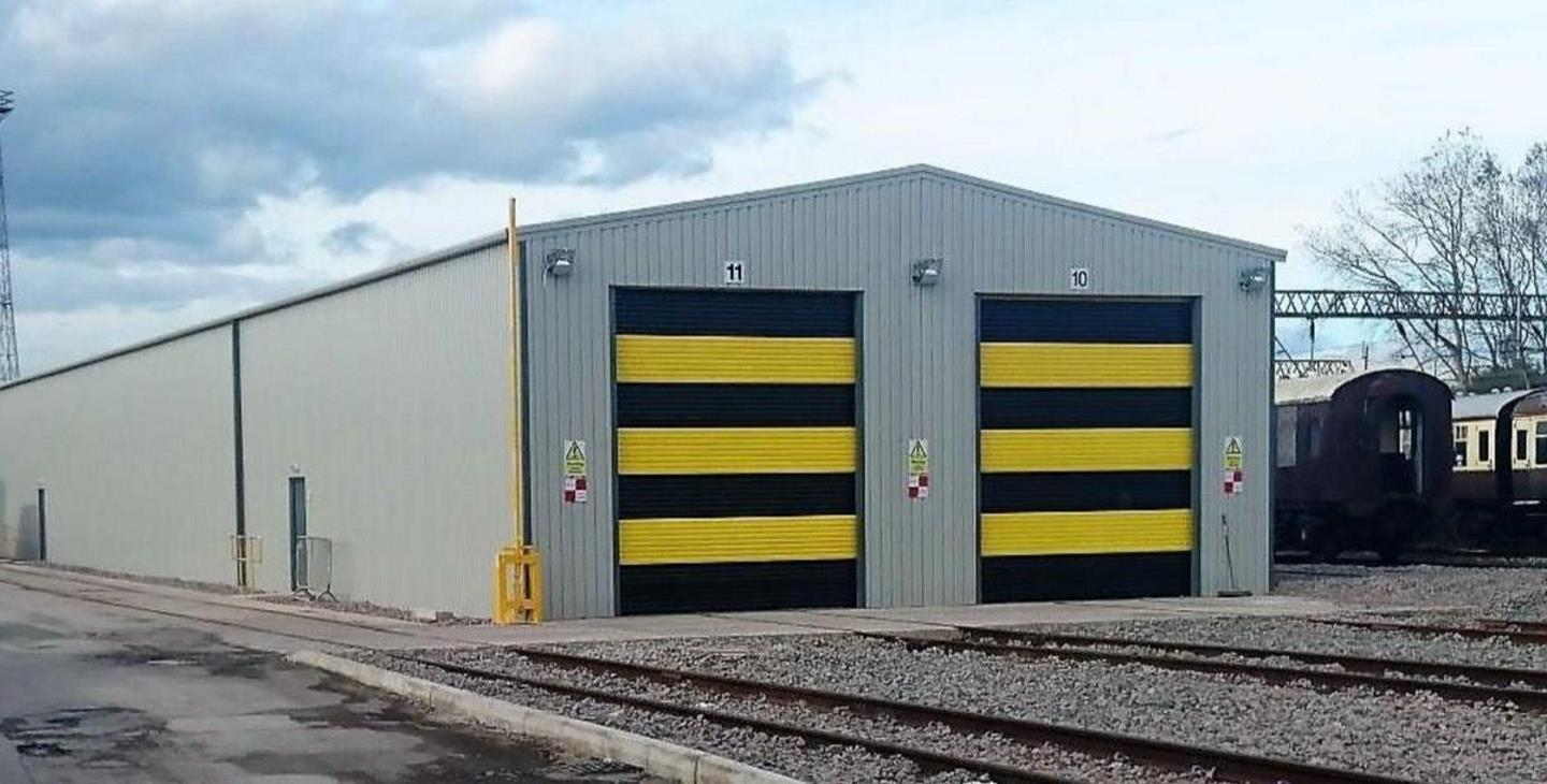 New Carriage Shed Completed // Credit Icons of Steam