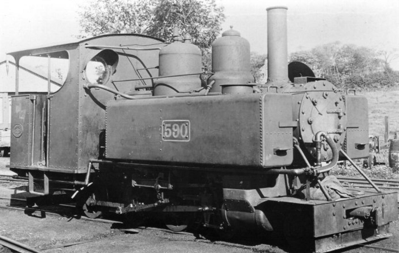 590 shortly after arriving on the Welsh Highland Railway // Credit Welsh Highland Heritage Railway