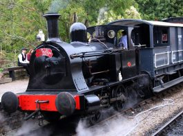 """""""Willy"""" // Credit Kev Slade Too - visitor to the Avon Valley Railway"""