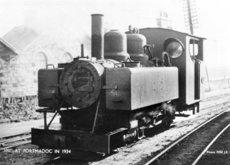 590 in 1934 // Credit Welsh Highland Heritage Railway