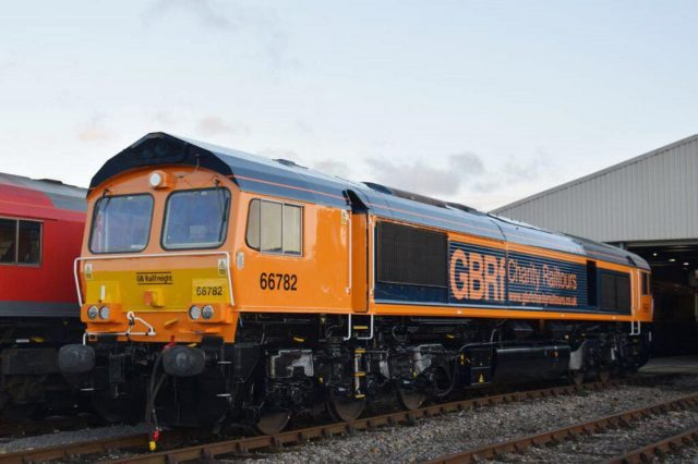 66783 // Credit GB Railfreight