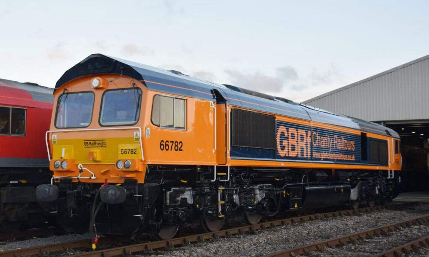66783 // Credit GB Railfreight