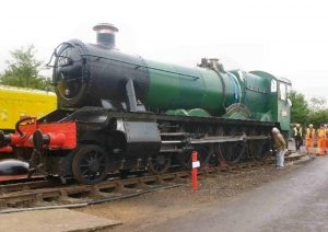 """6989 """"Wightwick Hall"""" in May 2017 // Credit The 6989 """"Wightwick Hall"""" Restoration Group"""