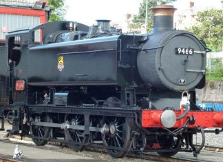 9466 // Credit GWR Hawksworth Large Pannier Tank 9466 FB Page