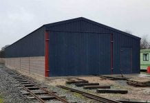 Bala Lake Railway and their new carriage shed