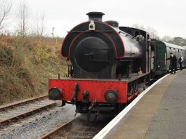 Train cancellations at the Gwilli Steam Railway during half term