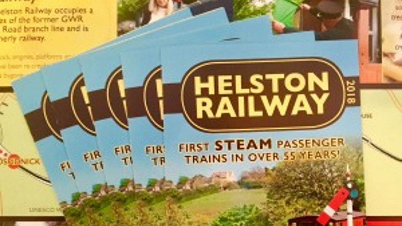 Helston Railway 2018 leaflet