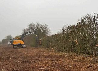 Lincolnshire Wolds Railway begin clearing track bed of extension
