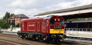20142 to haul the swanage railway Purbeck Explorer railtours by Swanage Railway
