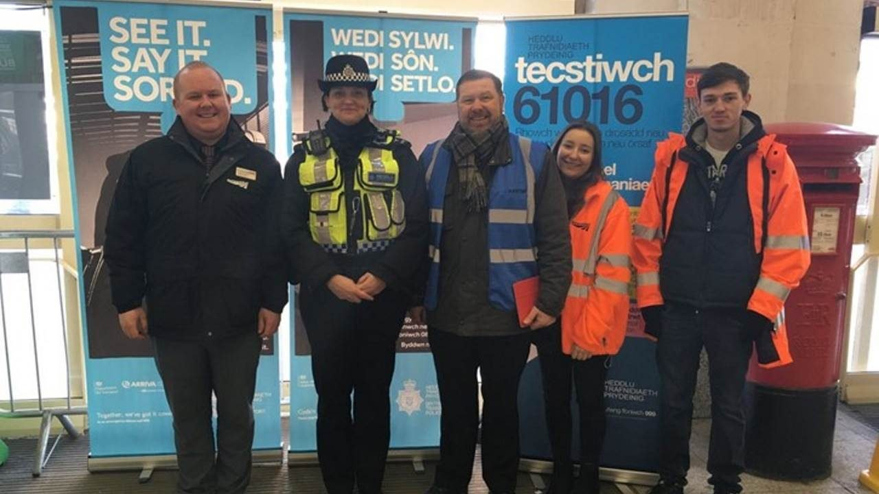 Cardiff Central security day