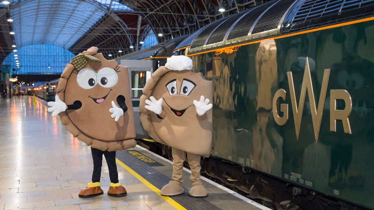 Cornish Pasty Week to be supported by Great Western Railway