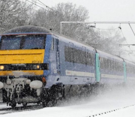 Snow and Severe Weather cancels or alters greater anglia train services