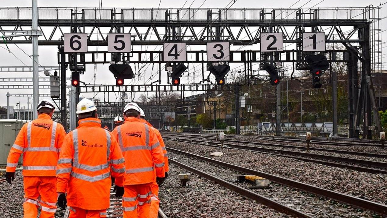 Carillion jobs safeguarded as Amey Rail snap up contracts