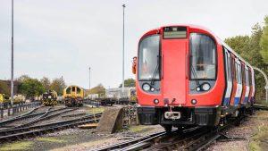 London Underground S Stock Train // Credit: Transport For London