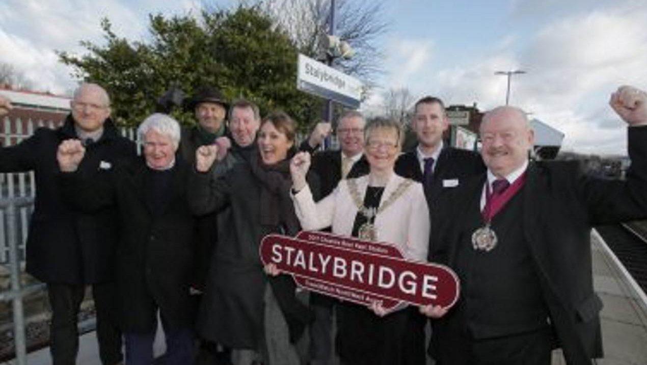 Stalybridge railway station wins top award