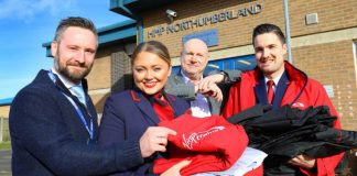 Virgin Trains team up with HMP Northumberland to recycle old uniform