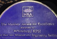 Whitehead Railway Museum award